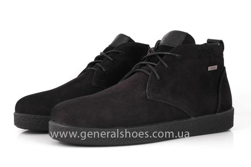 Мужские ботинки из нубука Koss байка фото 7