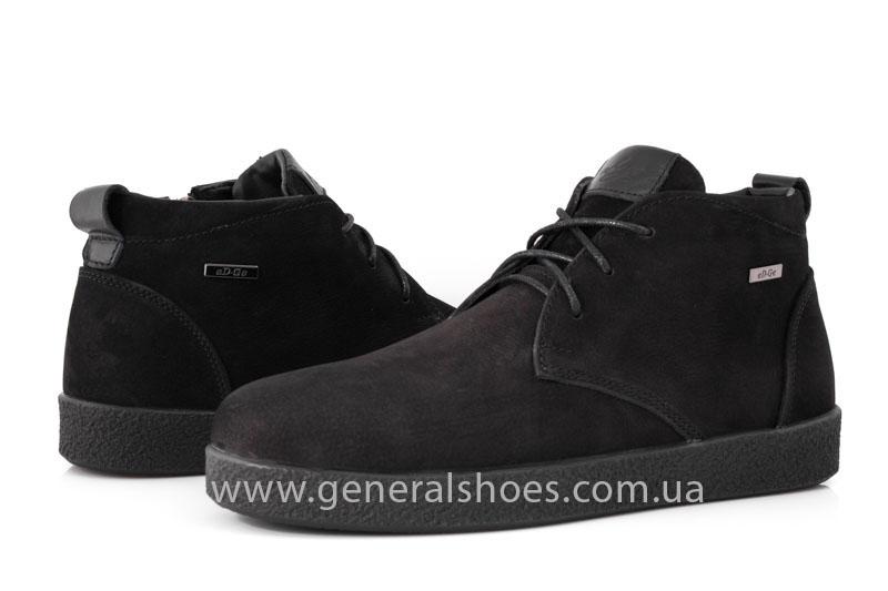 Мужские ботинки из нубука Koss байка фото 8