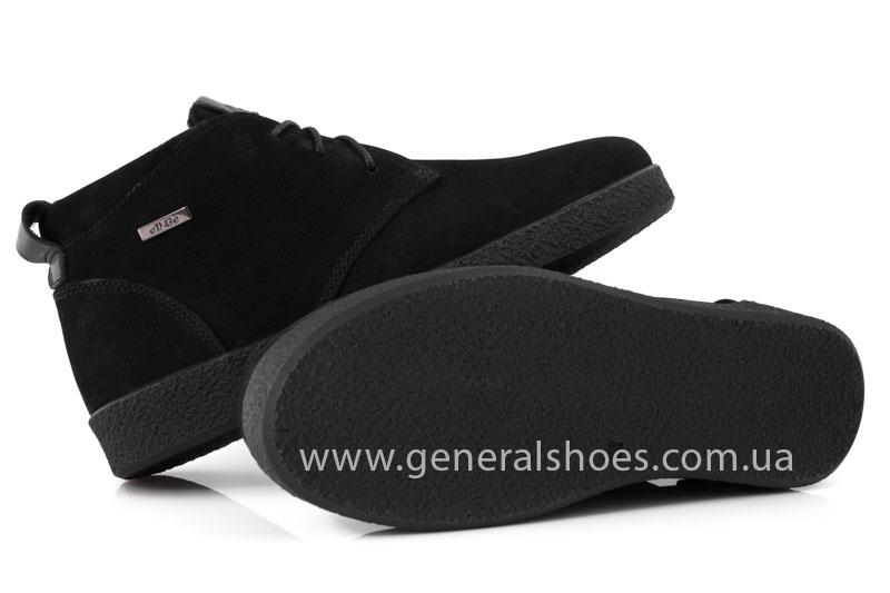 Мужские ботинки из нубука Koss байка фото 9