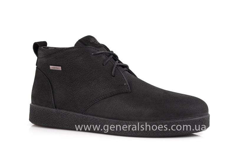 Мужские кожаные ботинки Koss байка фото 1