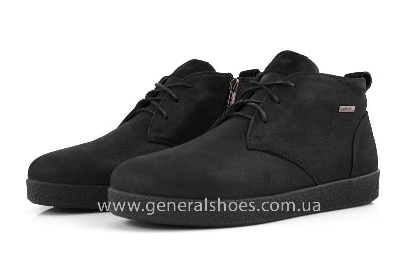 Мужские кожаные ботинки Koss байка фото 10