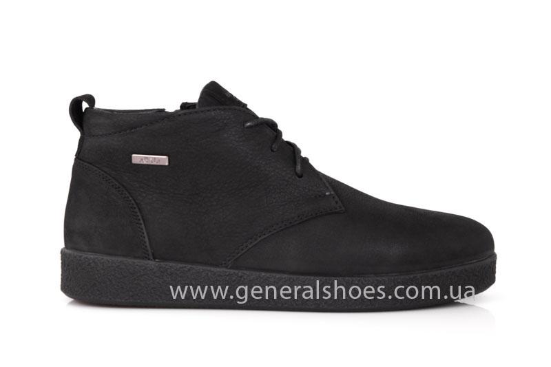 Мужские кожаные ботинки Koss байка фото 2
