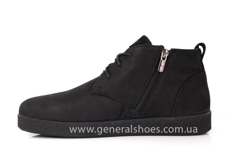 Мужские кожаные ботинки Koss байка фото 5