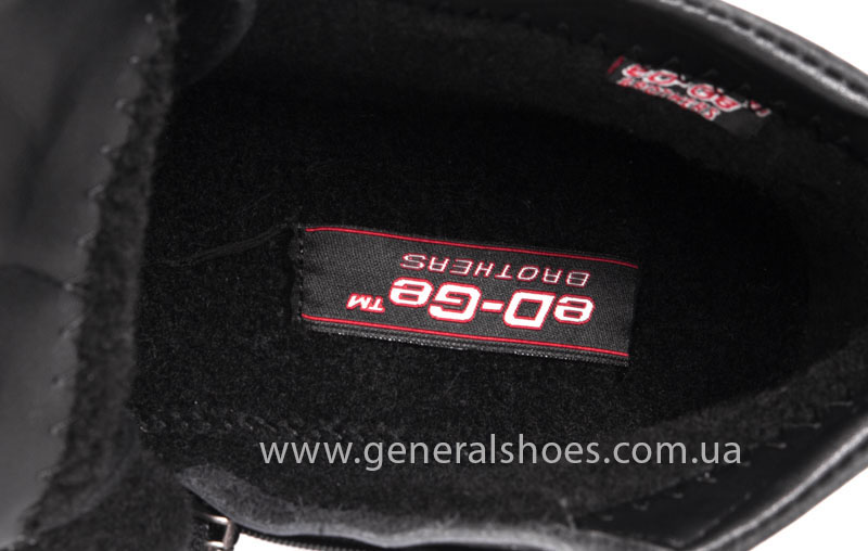 Мужские кожаные ботинки Koss байка фото 6