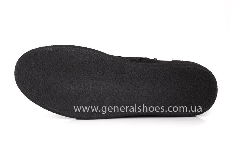 Мужские кожаные ботинки Koss байка фото 7