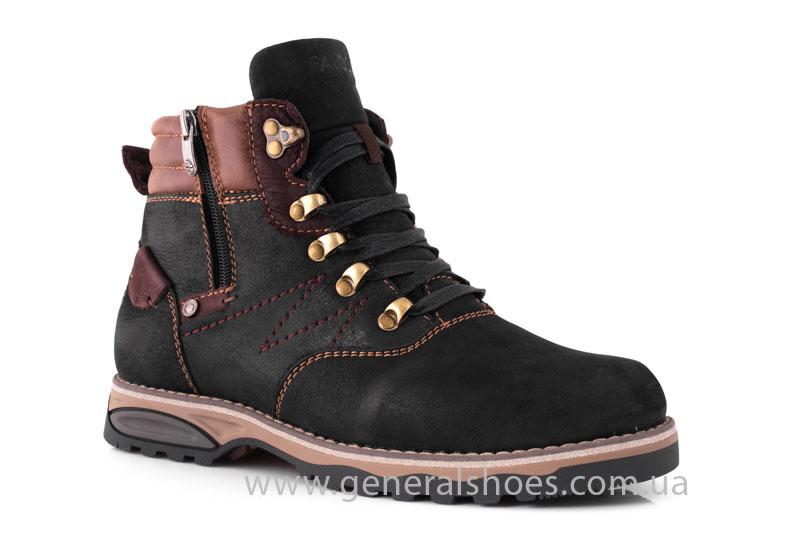 Мужские зимние ботинки Falcon 50717 черные фото 1