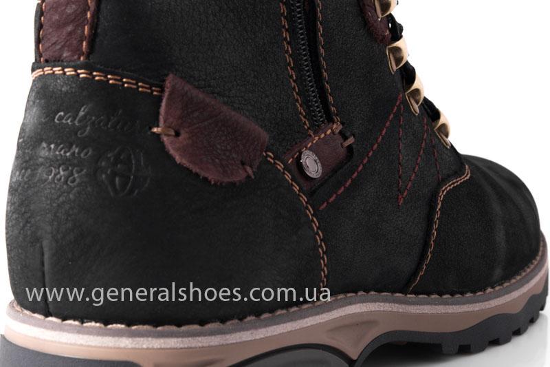 Мужские зимние ботинки Falcon 50717 черные фото 10