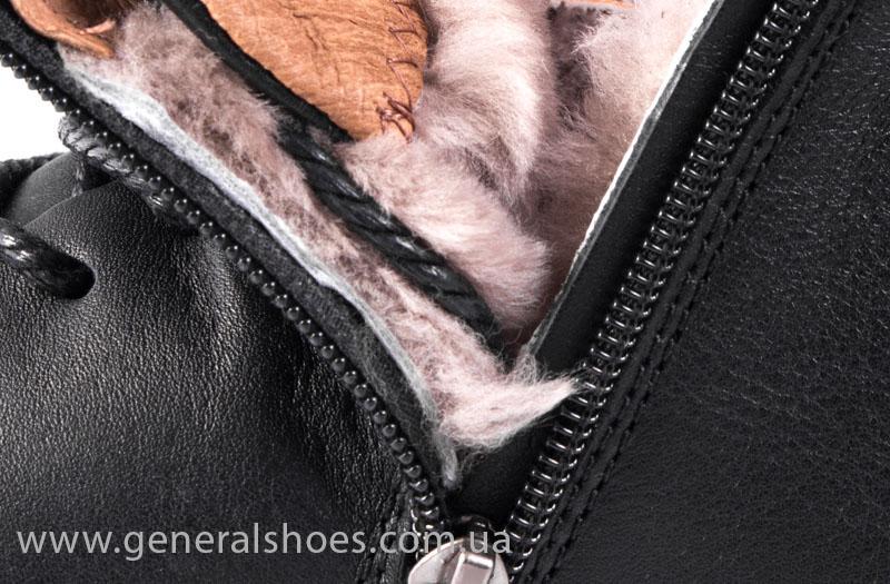 Мужские зимние ботинки Falcon 11919 черные фото 12