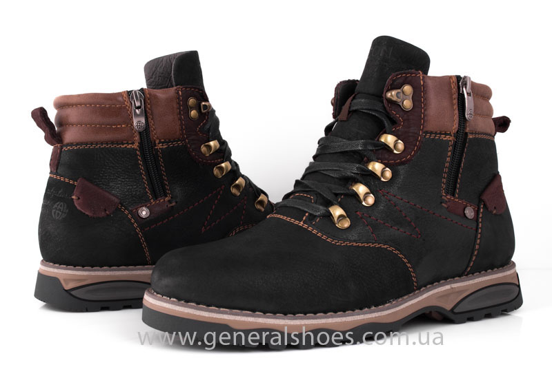 Мужские зимние ботинки Falcon 50717 черные фото 12