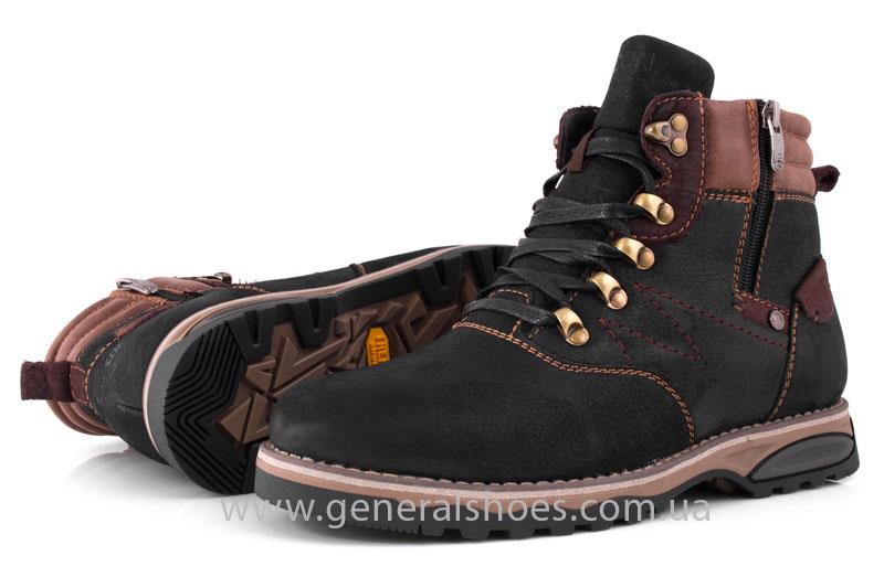Мужские зимние ботинки Falcon 50717 черные фото 13