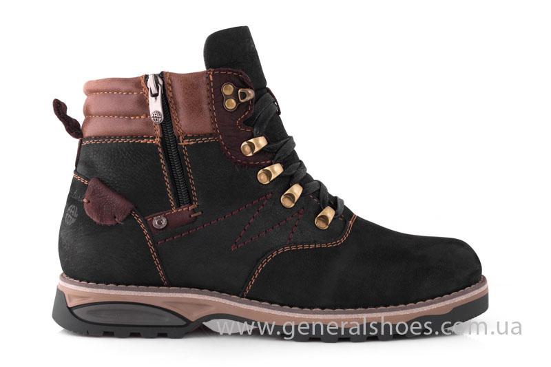 Мужские зимние ботинки Falcon 50717 черные фото 2