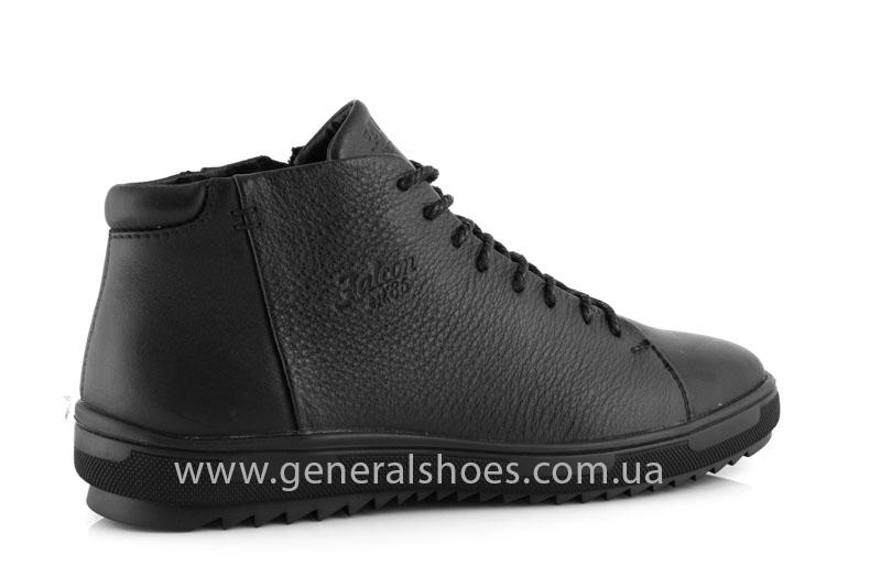 Мужские зимние ботинки Falcon 11919 черные фото 3