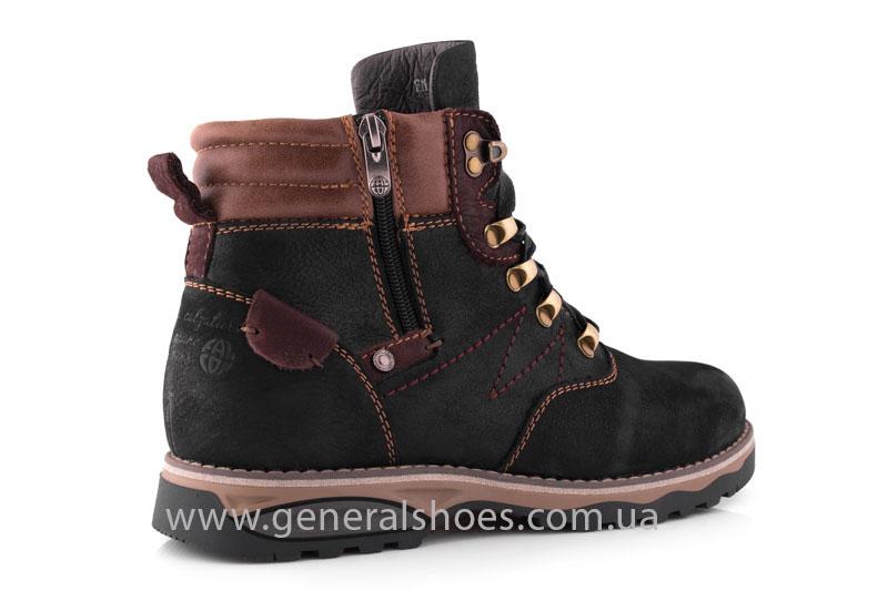 Мужские зимние ботинки Falcon 50717 черные фото 3