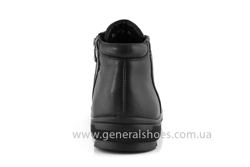 Мужские зимние ботинки Falcon 11919 черные фото 4