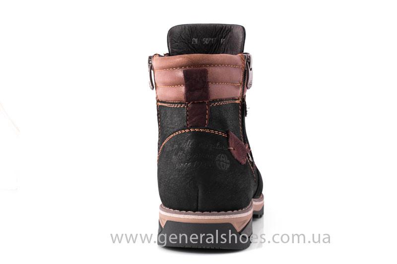 Мужские зимние ботинки Falcon 50717 черные фото 4