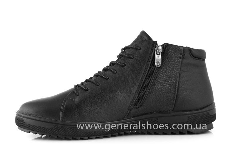 Мужские зимние ботинки Falcon 11919 черные фото 5