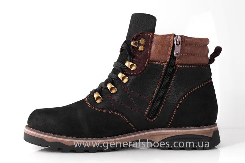 Мужские зимние ботинки Falcon 50717 черные фото 5