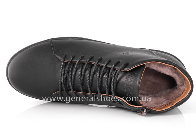 Мужские зимние ботинки Falcon 11919 черные фото 6