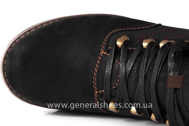Мужские зимние ботинки Falcon 50717 черные фото 6