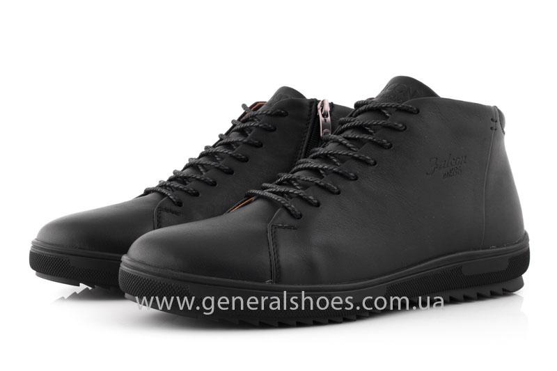 Мужские зимние ботинки Falcon 11919 черные фото 8