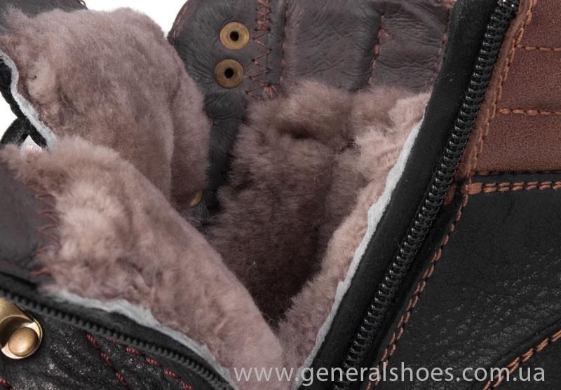 Мужские зимние ботинки Falcon 50717 черные фото 9
