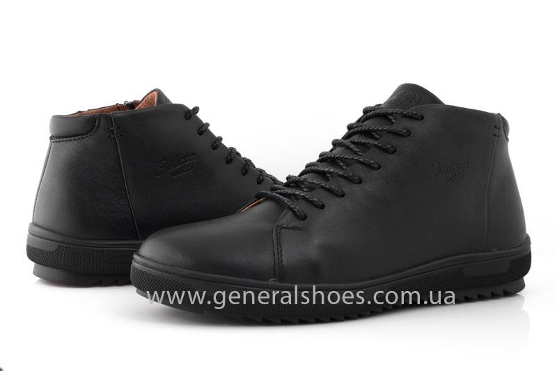 Мужские зимние ботинки Falcon 11919 черные фото 9