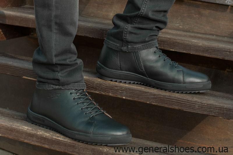 Мужские зимние ботинки Falcon 11919 черные