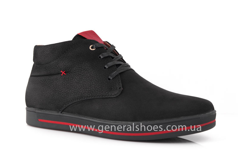 Мужские зимние ботинки Falcon 12719 R черные фото 1