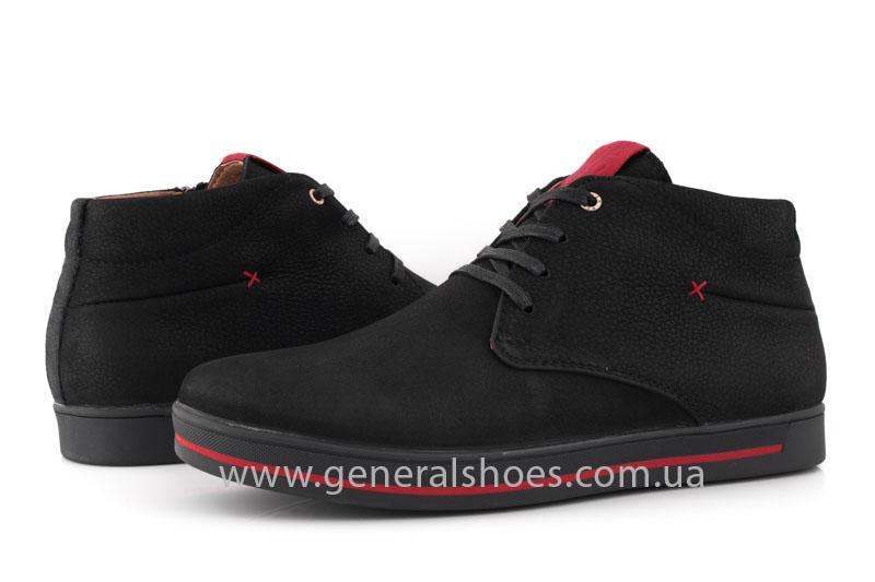 Мужские зимние ботинки Falcon 12719 R черные фото 10