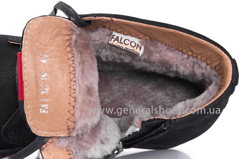 Мужские зимние ботинки Falcon 12719 R черные фото 8