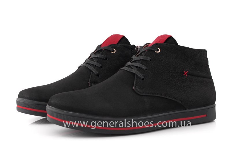 Мужские зимние ботинки Falcon 12719 R черные фото 9