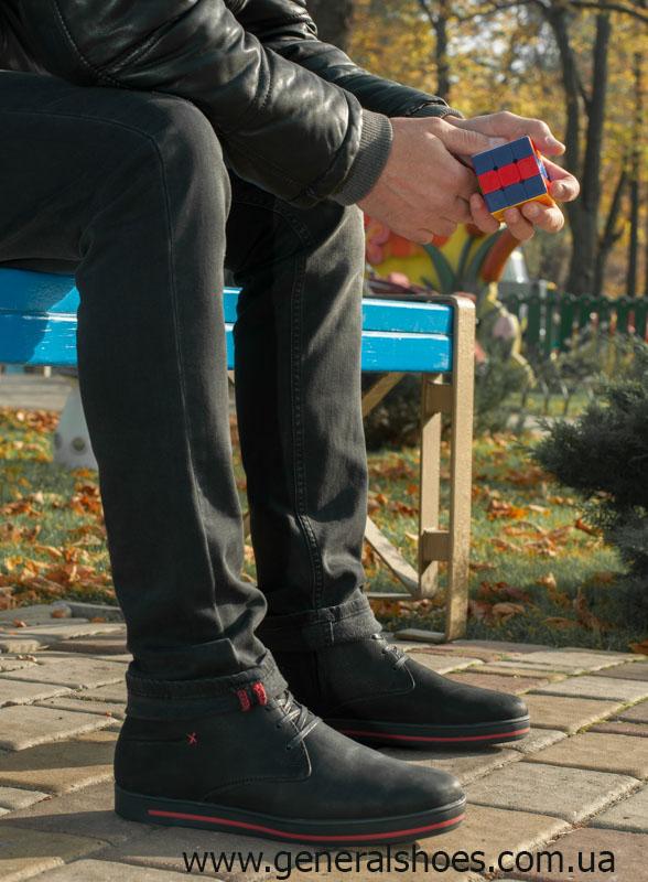 Мужские зимние ботинки Falcon 12719 R черные