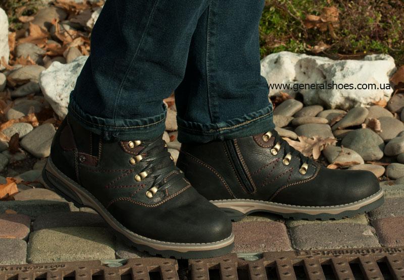 Мужские зимние ботинки Falcon 50717 черные