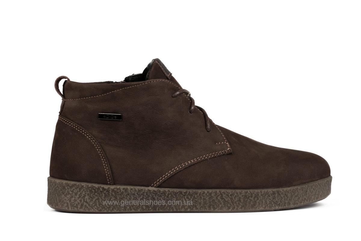 Мужские зимние ботинки Koss коричневые фото 1