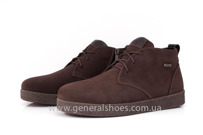 Мужские зимние ботинки Koss коричневые фото 10