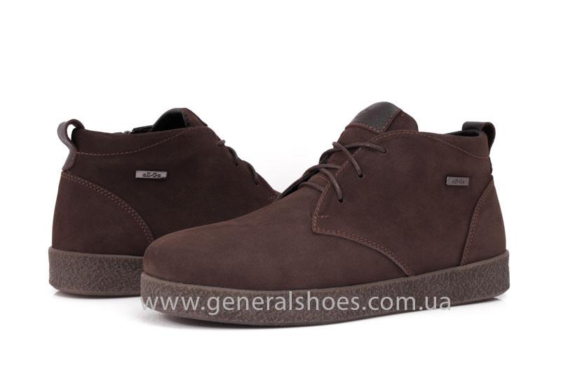 Мужские зимние ботинки Koss коричневые фото 11