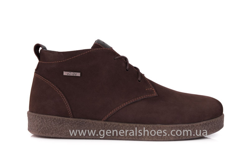 Мужские зимние ботинки Koss коричневые фото 2