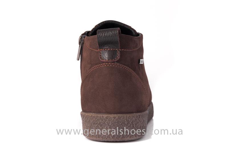 Мужские зимние ботинки Koss коричневые фото 4