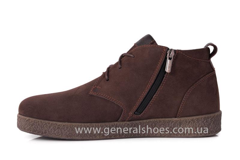 Мужские зимние ботинки Koss коричневые фото 5