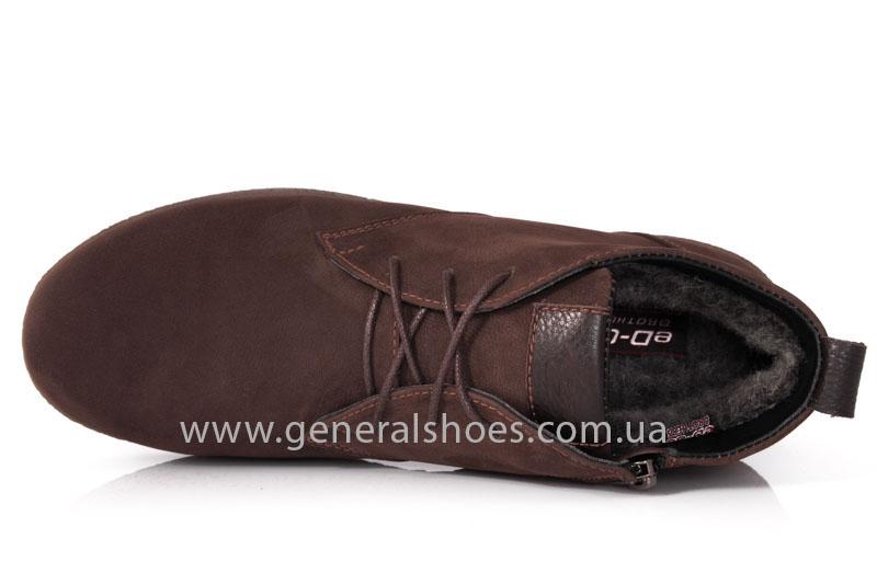 Мужские зимние ботинки Koss коричневые фото 6