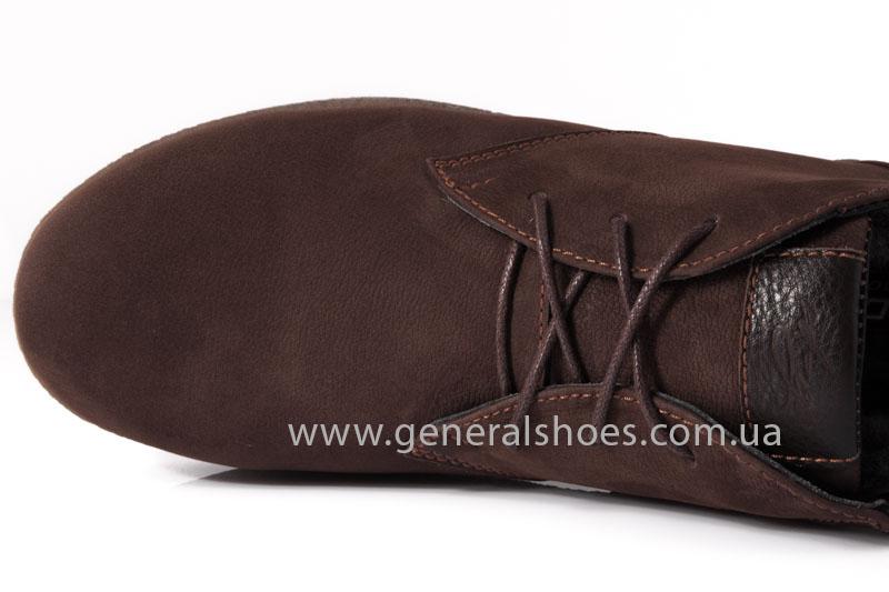 Мужские зимние ботинки Koss коричневые фото 7