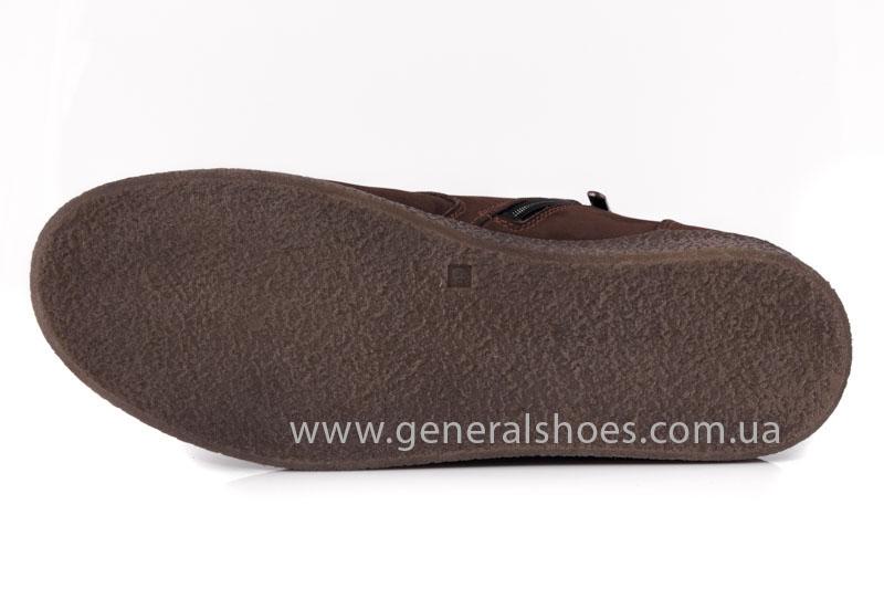 Мужские зимние ботинки Koss коричневые фото 8