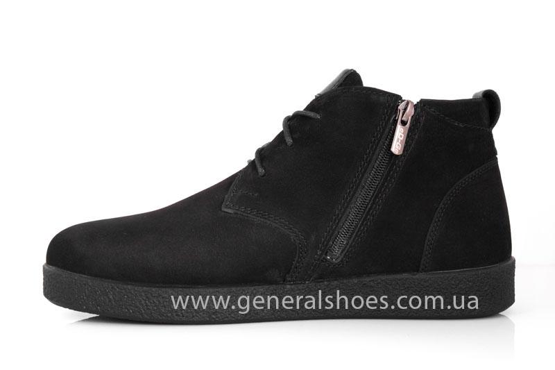 Мужские зимние ботинки Koss нубук фото 5