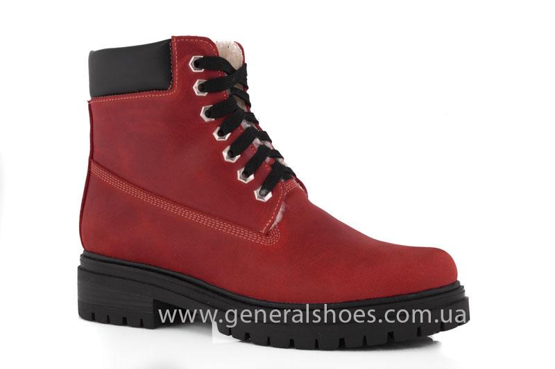 Женские зимние ботинки GL 150 кожаные фото 1