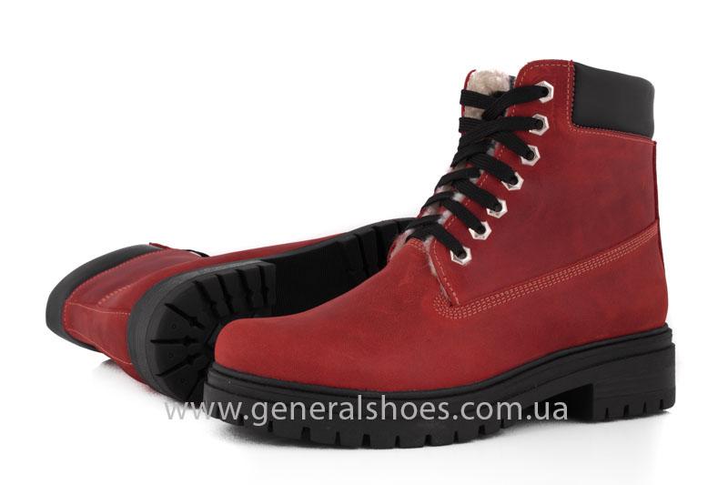 Женские зимние ботинки GL 150 кожаные фото 10