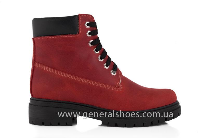 Женские зимние ботинки GL 150 кожаные фото 2