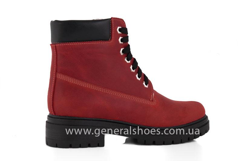 Женские зимние ботинки GL 150 кожаные фото 3