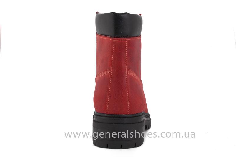 Женские зимние ботинки GL 150 кожаные фото 4