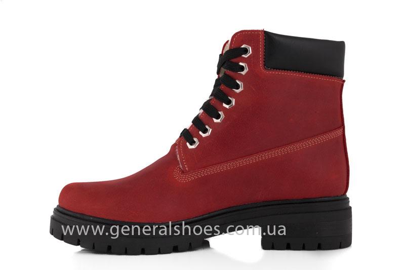 Женские зимние ботинки GL 150 кожаные фото 5