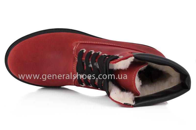 Женские зимние ботинки GL 150 кожаные фото 6